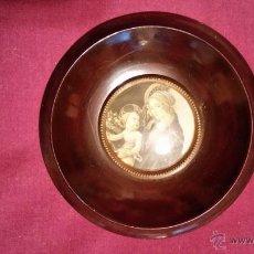 Antigüedades: MARCO REDONDO CON CRISTAL 12 CM. DIAM.. Lote 47675934