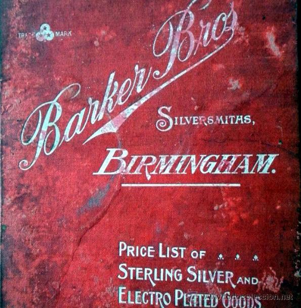 Antigüedades: JUEGO DE CAFÉ - BARKER BROTHERS - BIRMINGHAM - AÑOS 1900 - Foto 17 - 47678468