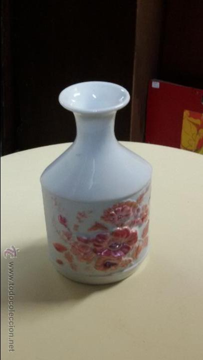 JARRON DE FLORES ART DECÓ (Antigüedades - Porcelanas y Cerámicas - Otras)