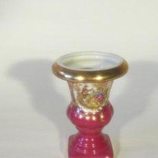 Antigüedades: COPA JARDIN PEQUEÑA EN PORCELANA DE LIMOGES. Lote 47686957