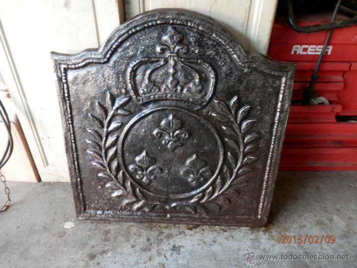 Plancha hierro fundido para chimenea comprar utensilios for Chimenea hierro fundido