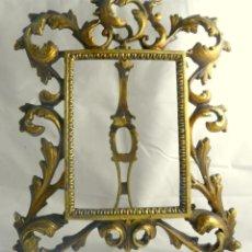 Antigüedades: MARCO ANTIGUO DE BRONCE. Lote 47707110