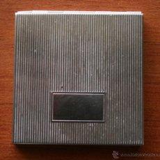 Antigüedades: ANTIGUO ESPEJO DE BOLSO EN METAL CON BAÑO DE PLATA. Lote 47715800