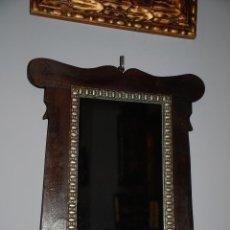 Antigüedades: PRECIOSO MARCO MODERNISTA CON ESPEJO. Lote 47720027