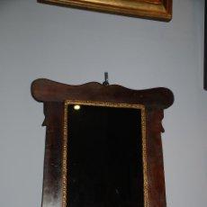 Antigüedades: MUY BONITO MARCO MODERNISTA CON ESPEJO. Lote 47720062