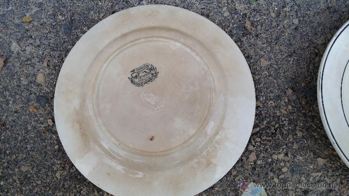 Antigüedades: antiguo plato de cartagena, ambicion al poder, sellado. - Foto 4 - 47729195
