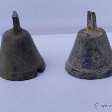 Antigüedades: CAMPANITAS DE BRONCE. Lote 47753151