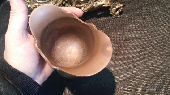 Antigüedades: Copa antigua en bronce, estilo imperio romano - Foto 12 - 47756060