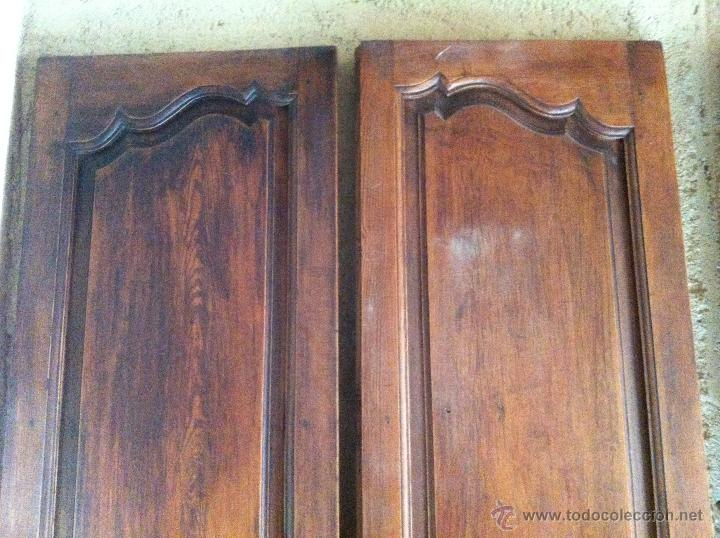 Dos puertas de doble hoja antiguas de interior comprar for Puertas dobles antiguas