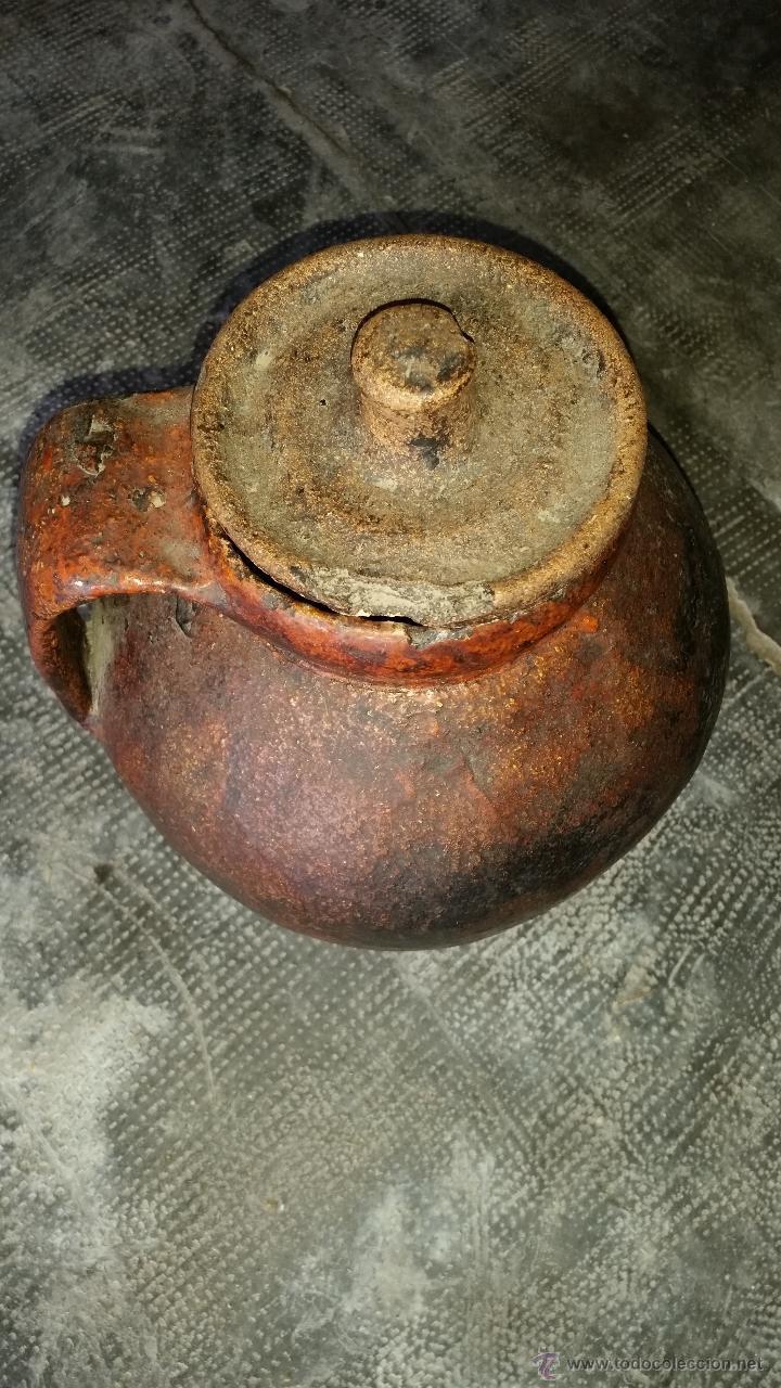 Antigüedades: Jarron barro - Foto 3 - 46188473