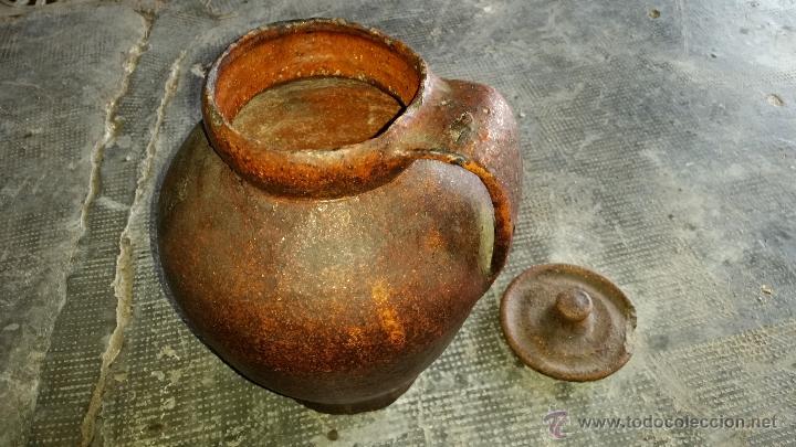 Antigüedades: Jarron barro - Foto 5 - 46188473