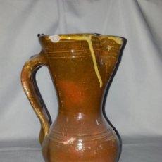 Antigüedades: JARRA VINATERA DE ALFARERIA, ANTIGUA, PARECE DE CUENCA. Lote 47797708