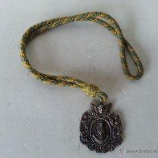 Antigüedades: MEDALLA DE LA VIRGEN DEL ROCIO HERMANDAD DE GINES - SEVILLA -. Lote 47799290