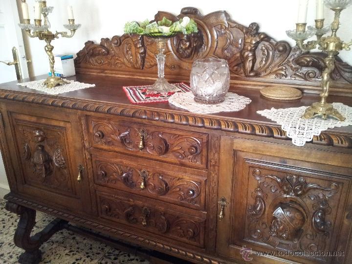 Estilos de muebles antiguos antigedades muebles antiguos mesas antiguas par de mesitas de noche - Muebles estilo antiguo ...