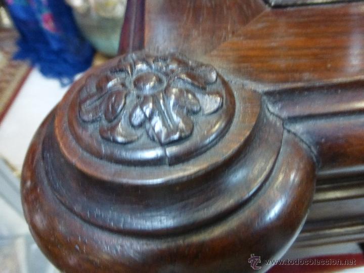 Antigüedades: ANTIGUO COSTURERO PALACIEGO FRANCES ORIGINAL DEL S. XIX - MADERA DE PALOSANTO CON MAGNIFICA FACTURA- - Foto 14 - 47839547