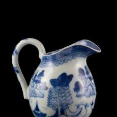 Antigüedades: LECHERA PORCELANA CHINA SIGLO XIX. Lote 47842246