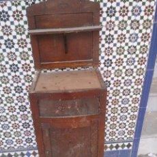 Antigüedades: MESA DE NOCHE ANTIGUA. Lote 47842379