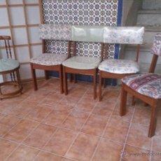 Antigüedades: SILLAS TIPO MARINA. Lote 47842518