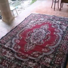 Antigüedades: ALFOMBRA GRANDE LEER. Lote 47850261
