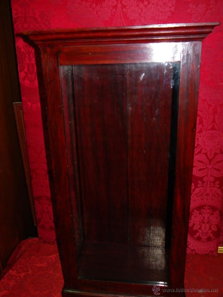 Antigüedades: Vitrina antigua en madera siglo XIX - Foto 6 - 109242926