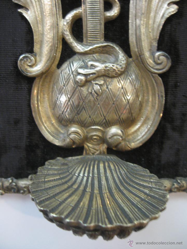 Antigüedades: Benditera en bronce - Foto 3 - 47863884
