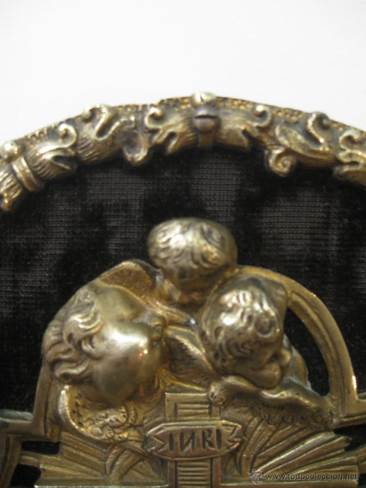 Antigüedades: Benditera en bronce - Foto 5 - 47863884