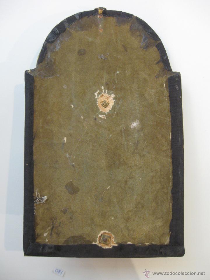 Antigüedades: Benditera en bronce - Foto 6 - 47863884