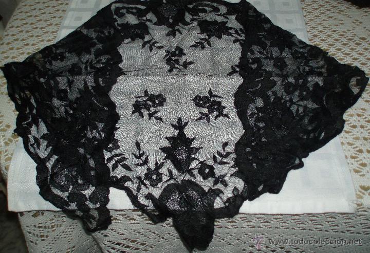 ANTIGUA MANTILLA O VELO DE LOS AÑOS 30 (Antigüedades - Moda - Mantillas)