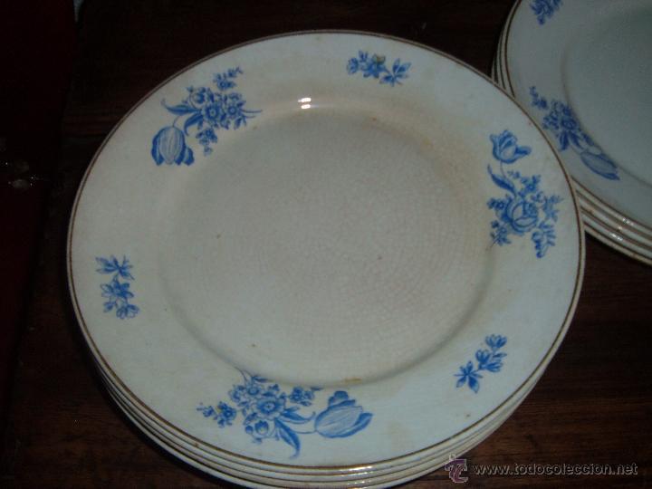 Antigüedades: Vajilla de La Cartuja - Foto 2 - 47868186