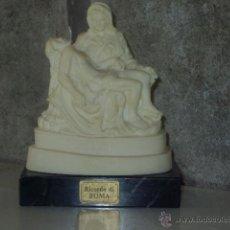 Antigüedades: FIGURA,ESCULTURA DE MIGUEL ANGEL *LA PIEDAD * .ROMA,MADE IN ITALY.. Lote 47880368