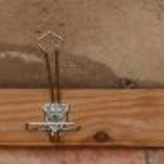 Antigüedades: PERCHA PERCHERO DE MADERA Y METAL, AÑOS 40.. Lote 47886821