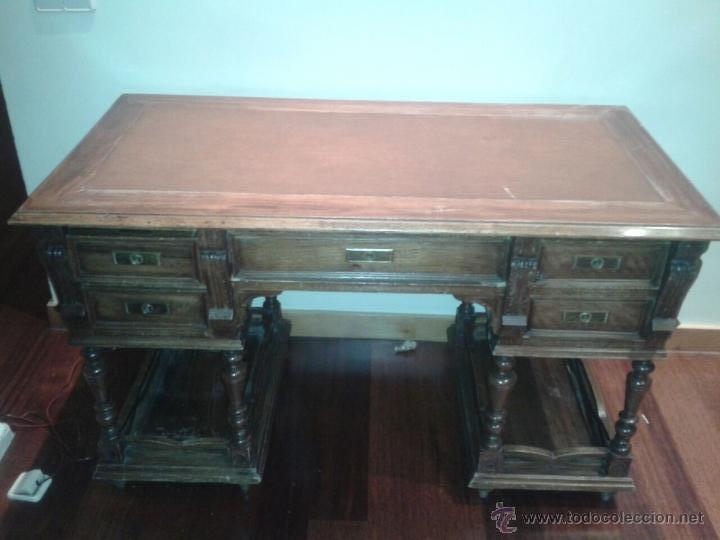 DESPACHO ANTIGUO (Antigüedades - Muebles Antiguos - Mesas de Despacho Antiguos)