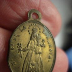 Antigüedades: ESPAÑA RARA MEDALLA VIRGEN DE LA BONANOVA PALMA DE MALLORCA - SIGLO XIX - MIRA OTRAS EN VENTA. Lote 47909788