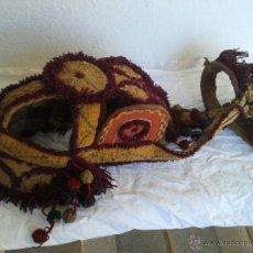 Antigüedades: MELENAS, ADORNO PARA BURRO O MULA. Lote 47944204