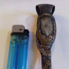 Antigüedades: PINZAS EN METAL PLATEADO. Lote 47948455