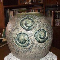 Antigüedades: JARRÓN DE CERÁMICA. Lote 47971077