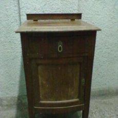 Antigüedades: MESILLA NOCHE CAOBA PARA RESTAURAR. Lote 47971828