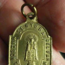 Antigüedades: ESPAÑA MEDALLA VIRGEN FAR SAN MARTI SACALM SUSQUEDA LA SELVA GIRONA SIGLO XIX - MIRA OTRAS EN VENTA. Lote 47981462