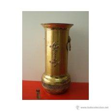 Antigüedades: ANTIGUO PARAGUERO LATÓN.. Lote 47985453