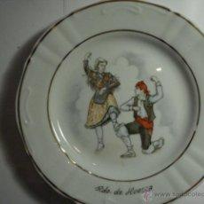 Antigüedades: ESPAÑA PRECIOSO PLATO DECORATIVO JOTA ARAGONESA HUESCA ARAGON - MIRA OTROS EN VENTA. Lote 47994926