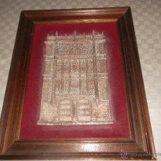 Antiquitäten - presiosa capilla hecha en cobre plateado antigua - 48006283