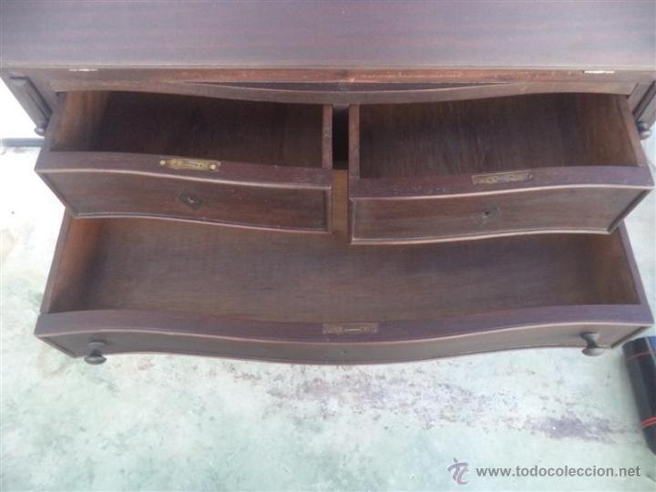 Antigüedades: mueble escritorio - Foto 5 - 48051930