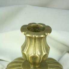 Antigüedades: CANDELABRO PEQUEÑO. CANDELABRO BAJO.. Lote 48102097