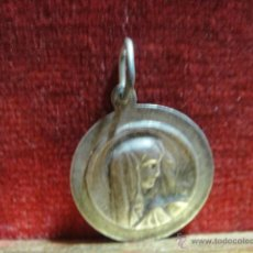 Antigüedades: ANTIGUA MEDALLA EN PLATA , RECUERDO DE BELEM. Lote 48129453