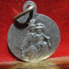 Antigüedades: MEDALLA VIRGEN DEL CARMEN. Lote 48136827