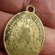 Antigüedades: ESPAÑA RARA MEDALLA VIRGEN DE CALDAS DE BOHI LLEIDA LERIDA - SIGLO XIX MIRA OTRAS EN VENTA. Lote 48166855