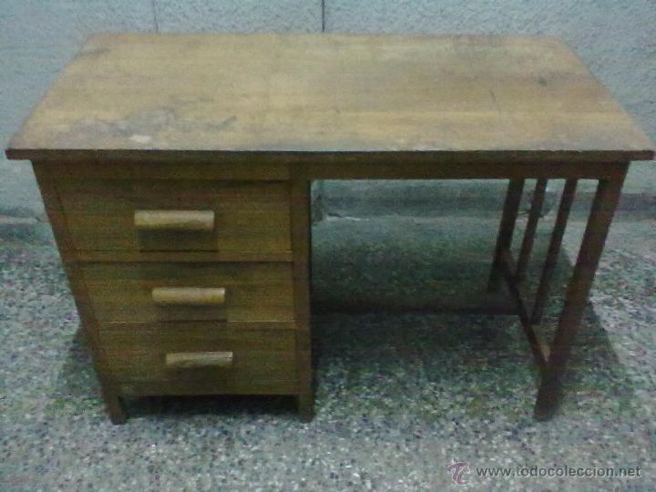 pequeña mesa roble oficina para restaurar - Comprar Mesas de ...