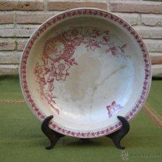 Antigüedades: PLATO ANTIGUO DE LA CARTUJA/PICKMAN.SEVILLA.. Lote 48199215