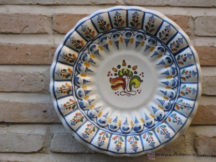 Plato en ceramica de talavera de la reina comprar for Platos de ceramica