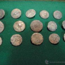 Antigüedades: LOTE DE 15 BOTONES ANTIGUOS. Lote 48199917